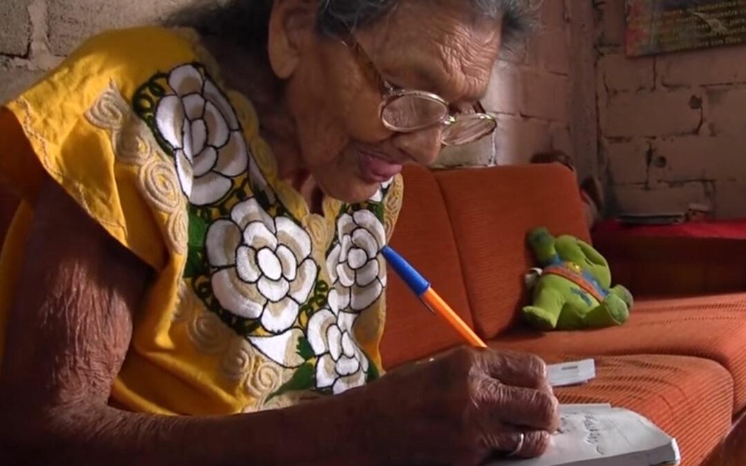 Lupita, aprendizaje en la vejez