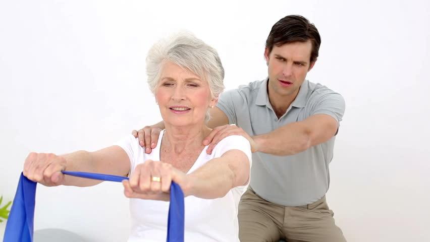 Fisioterapia domiciliaria La Cruz Azul